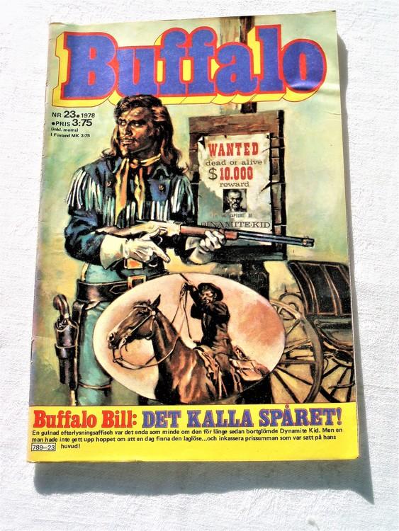 Buffalo nr 23 1978 mycket bra skick