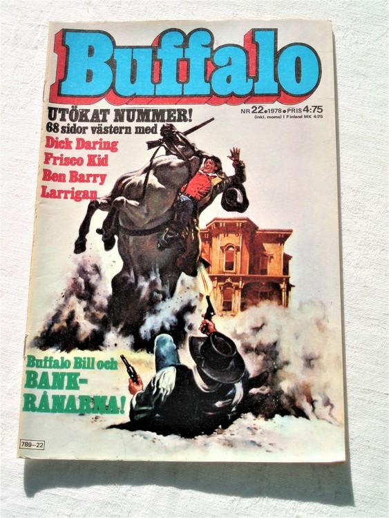 Buffalo nr 22 1978 mycket bra skick 68 sidor.