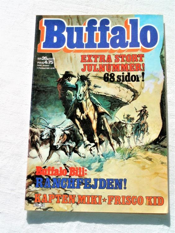 Buffalo nr 26 1978 68 sidor mycket bra skick