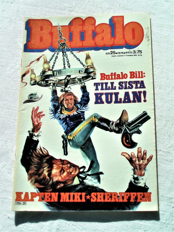 Buffalo nr 25 1978  mycket bra skick