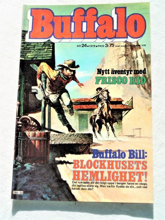 Buffalo nr 24 1978  mycket bra skick
