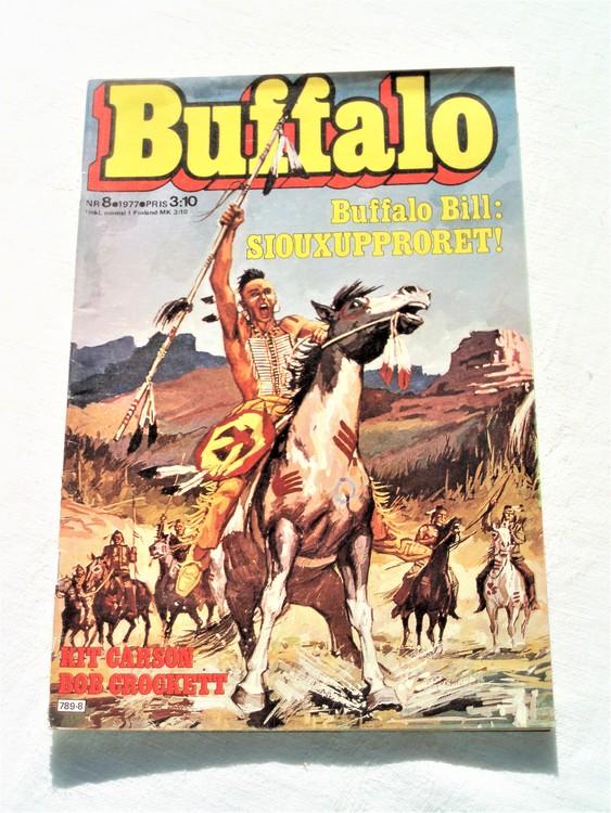 Buffalo nr 8 1977 mycket bra skick