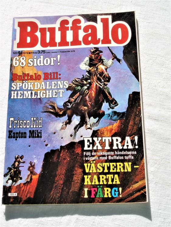 Buffalo nr 4 1976 mycket bra skick 68 sidor