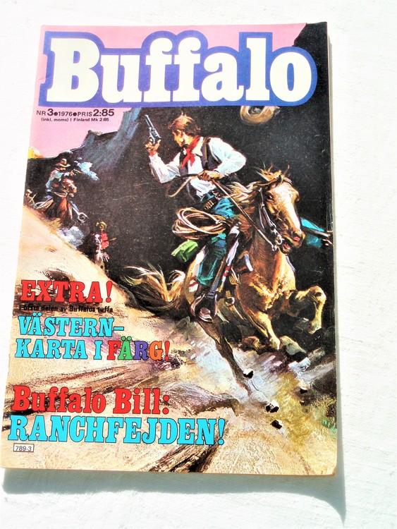 Buffalo nr 3 1976 mycket bra skick