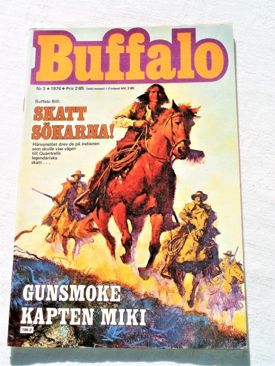 Buffalo nr 2 1976 mycket bra skick