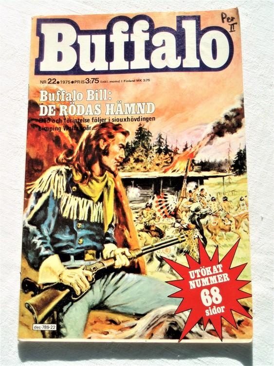 Buffalo nr 22 1975 mycket bra skick.