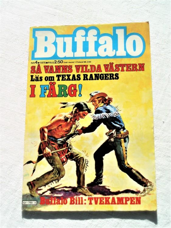 Buffalo nr 4 1975 mycket bra skick