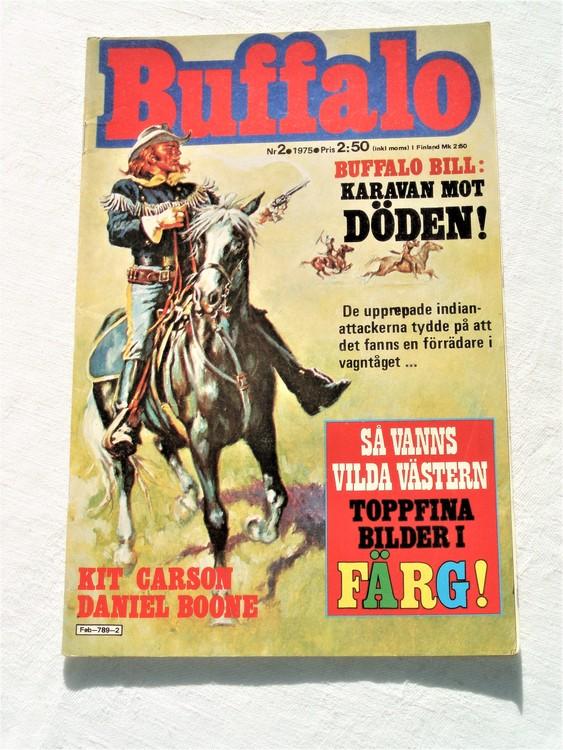 Buffalo nr 2 1975 mycket bra skick