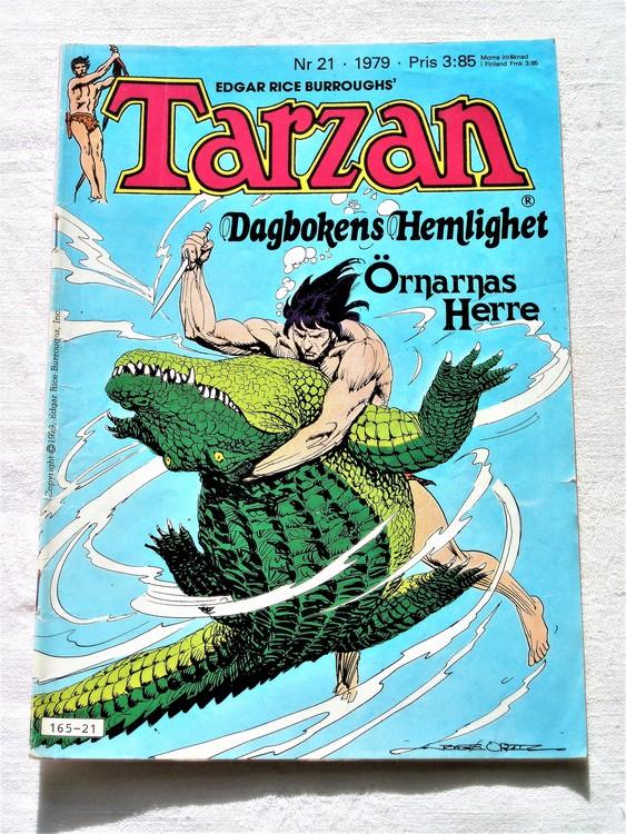 Tarzan nr 21 1979  bättre skick