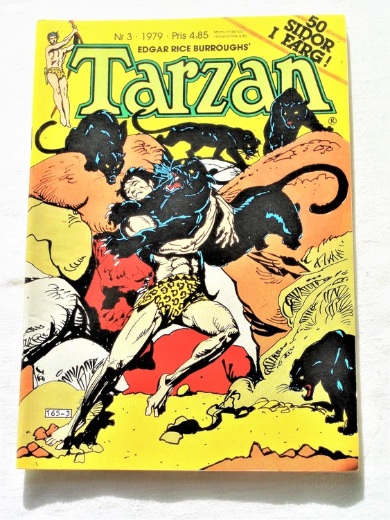 Tarzan nr 3 1979 mycket bra skick