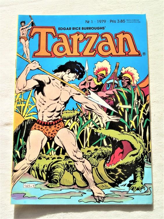 Tarzan nr 1 1979 mycket bra skick
