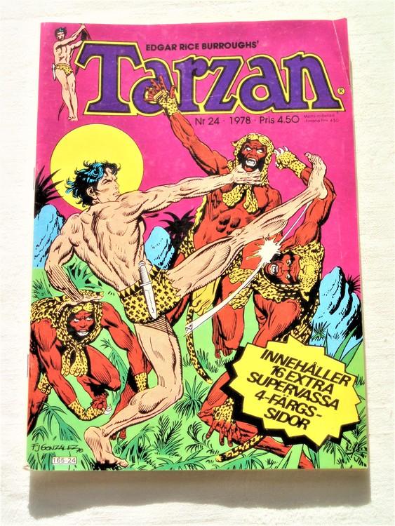 Tarzan nr 24 1978 bättre skick