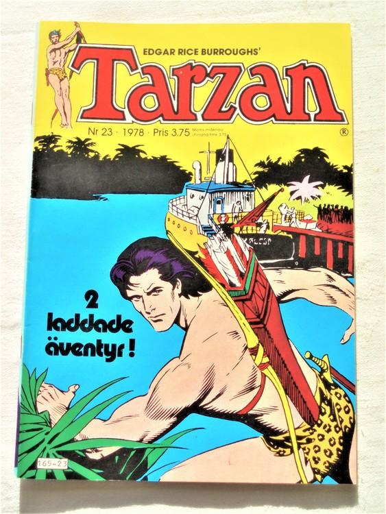 Tarzan nr 23 1978 mycket bra skick
