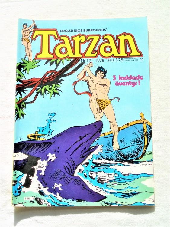 Tarzan nr 19 1978 mycket bra skick