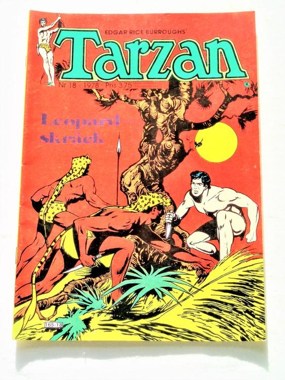 Tarzan nr 18 1978 mycket bra skick