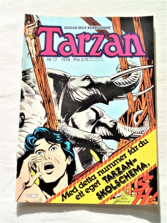 Tarzan nr 17 1978 mycket bra skick