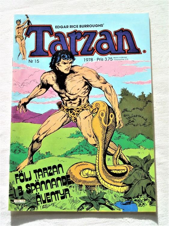 Tarzan nr 15 1978 mycket bra skick