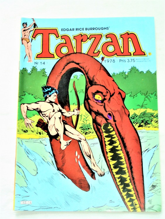 Tarzan nr 14 1978 mycket bra skick