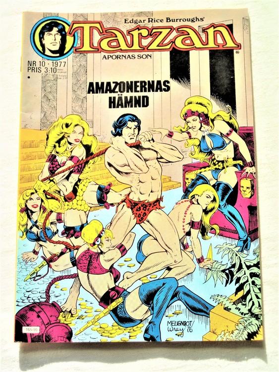 Tarzan nr 10 1977 mycket bra skick