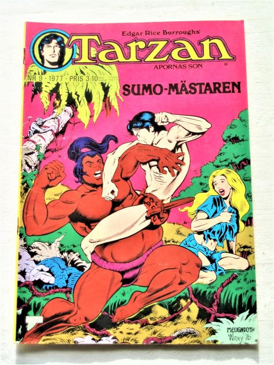 Tarzan nr 9 1977 mycket bra skick