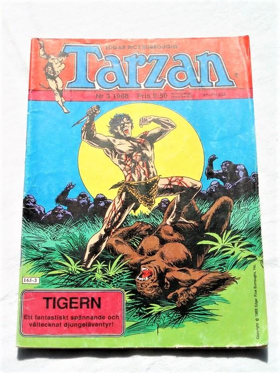 Tarzan nr 3, 1988 bra skick