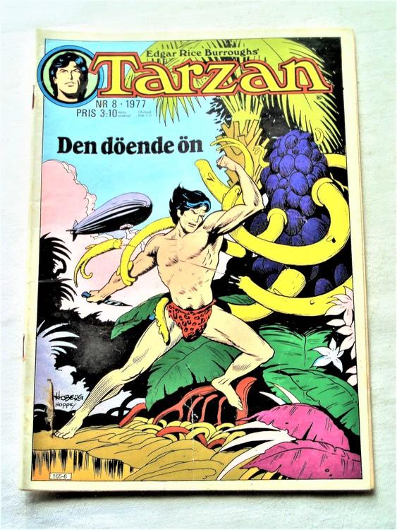 Tarzan nr 8 1977 mycket bra skick