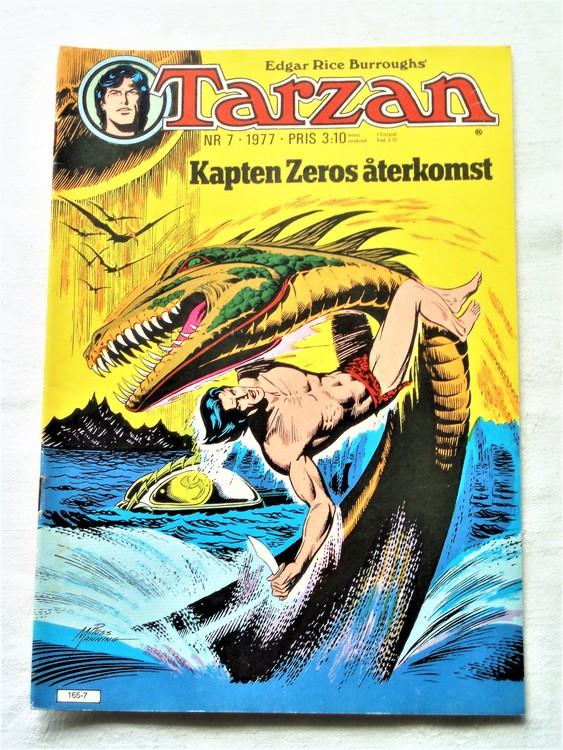 Tarzan nr 7 1977 mycket bra skick