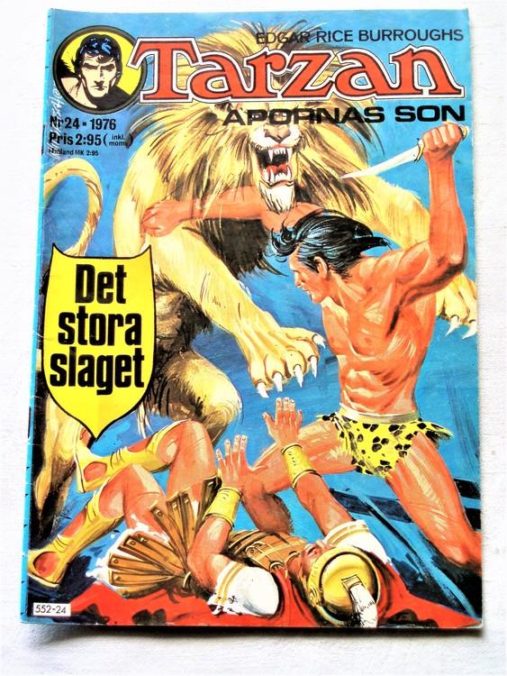 Tarzan nr 24 1976 bättre skick