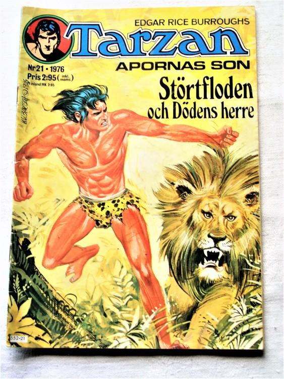 Tarzan nr 21 1976 bättre skick