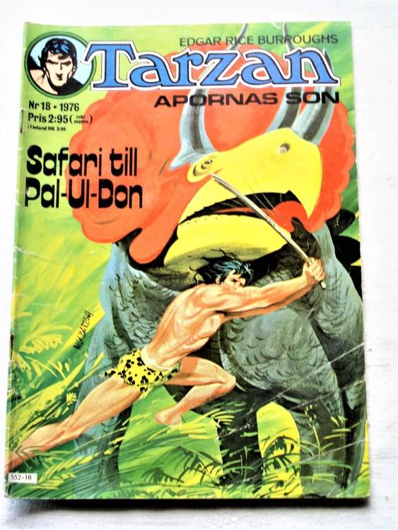 Tarzan nr 18 1976 bättre skick