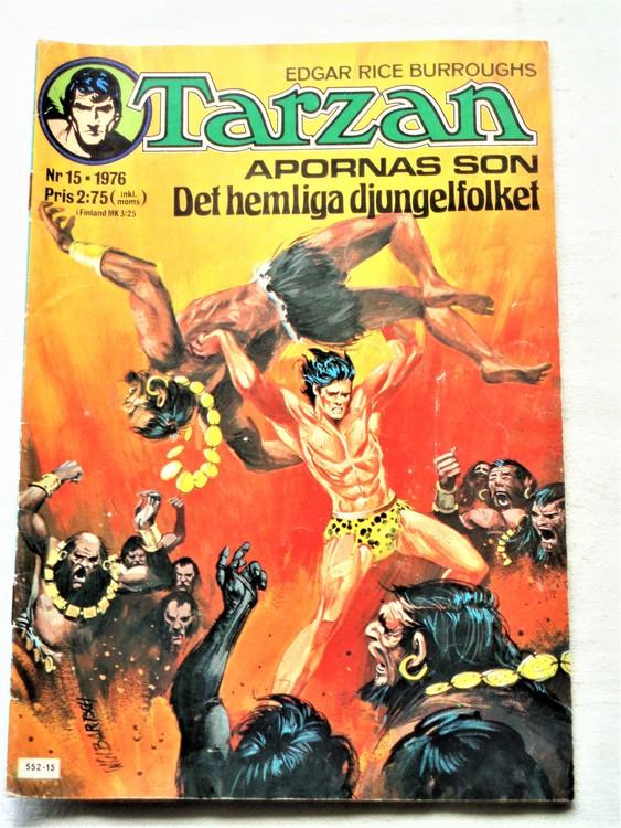 Tarzan nr 15 1976 bättre skick