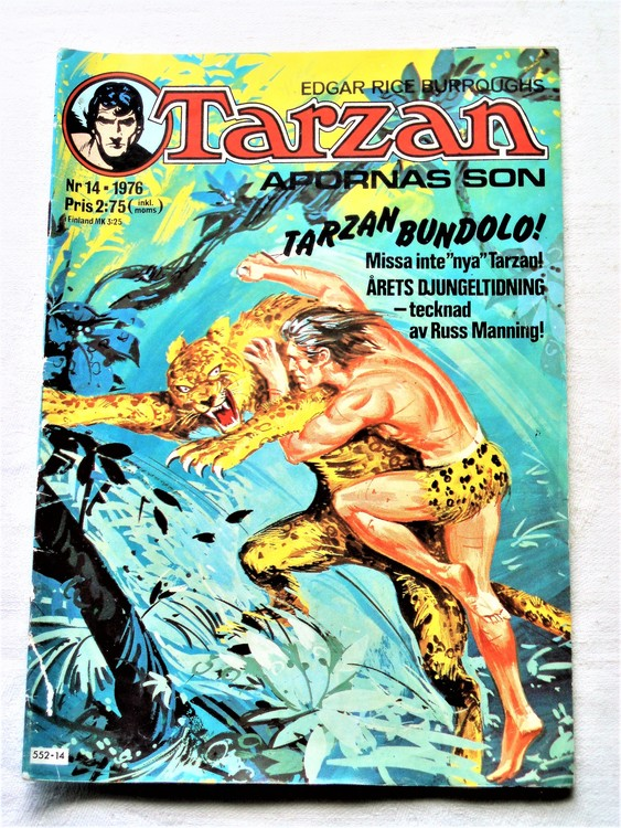 Tarzan nr 14 1976 bättre skick