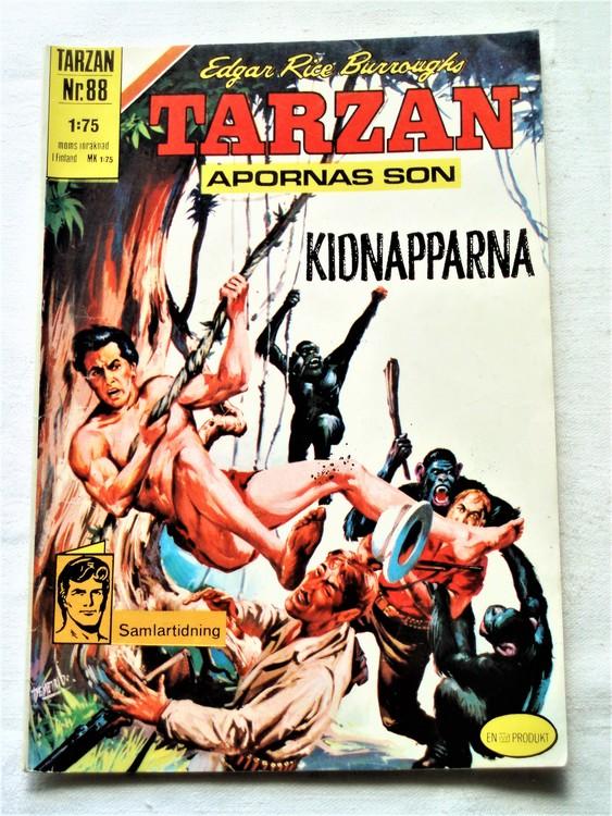 Tarzan nr 88 1971 normalslitet normalskick  bra skick