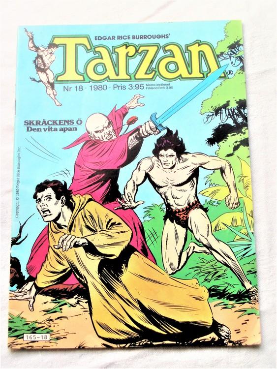 Tarzan nr 18, 1980 mycket bra skick