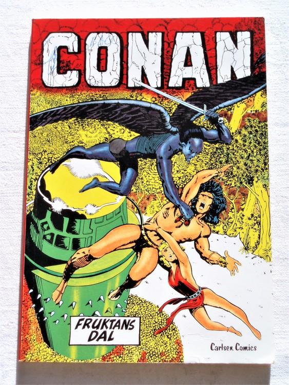 """Conan""""Fruktans Dal""""nr2 1978 1:a upplaga mycket bra skick nyskick oläst"""