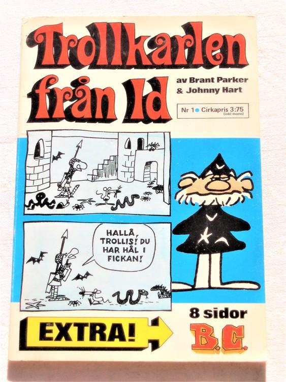Trollkarlen från Id nr 1 1972 semic, bättre skick