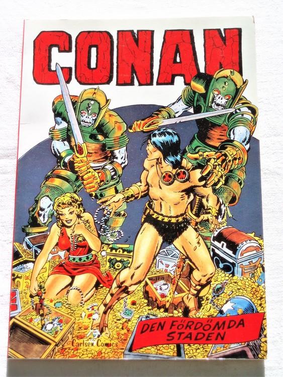 """Conan""""Den Fördömda Staden""""nr1 1978 1:a upplaga mycket bra skick nyskick oläst"""