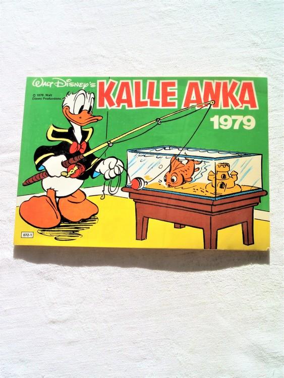 Kalle Anka 1979 mycket bra skick