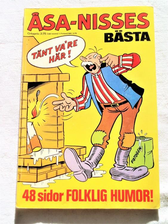 Åsa-Nisses Bästa nr 1 1973 mycket bra skick