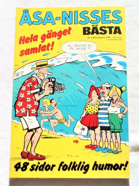 Åsa-Nisses Bästa nr 4 1973 mycket bra skick