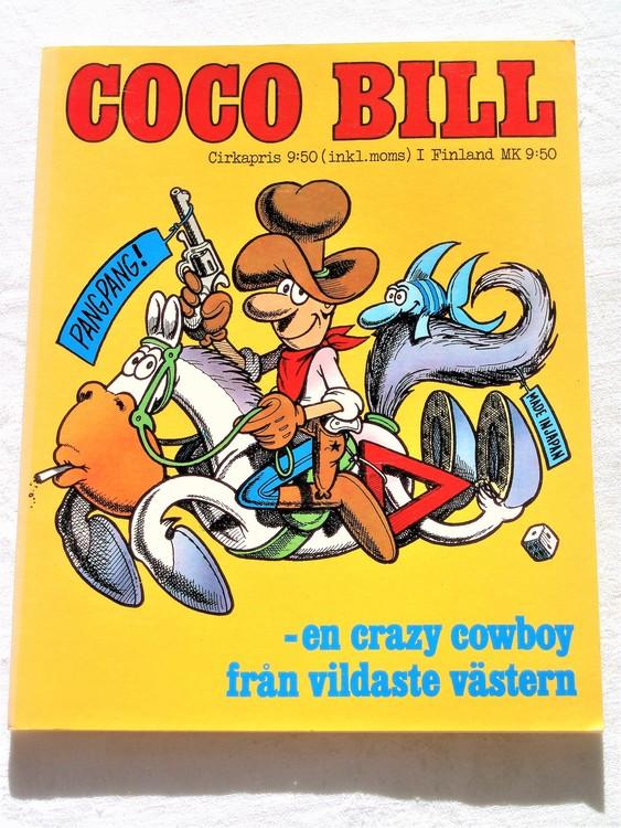 Coco Bill 1974 48 sidor färg semic förlag mycket bra skick nyskick oläst