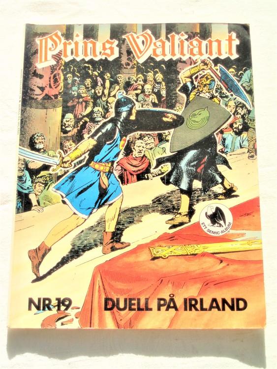 """Prins Valiant""""Duell På Irland"""" nr 19,1980 semic bättre skick"""