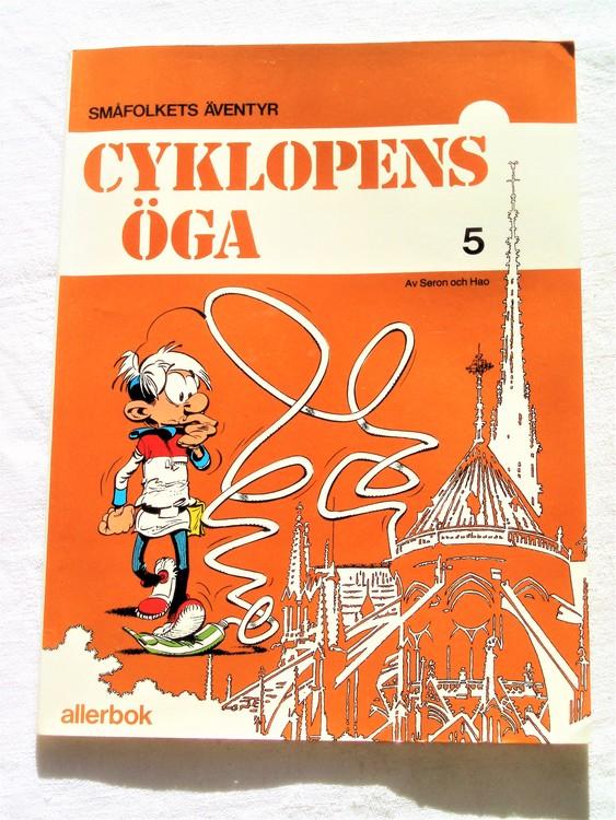 """Småfolkets Äventyr """"Cyklopens öga""""nr 5 1980 mycket bra skick nyskick oläst"""