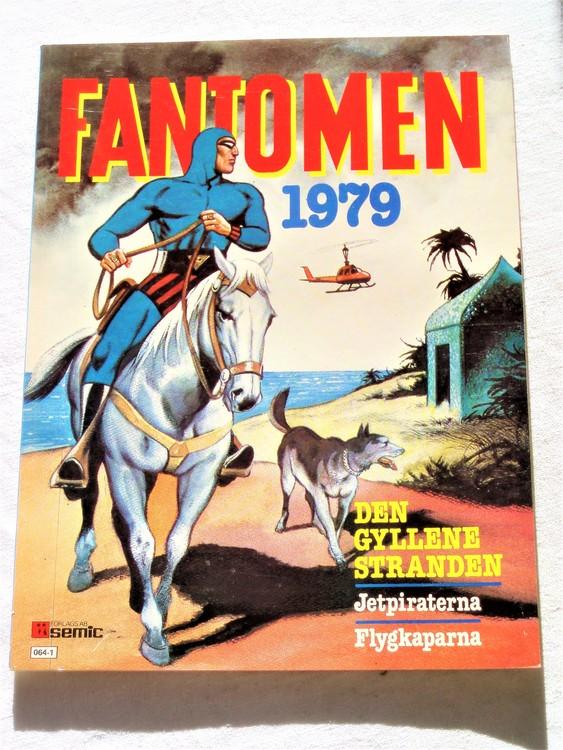 Fantomen Den Gyllene Stranden 1979 mycket bra skick nyskick