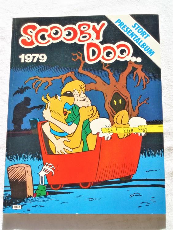 Scooby Doo stort presentalbum 1979 mycket bra skick nyskick