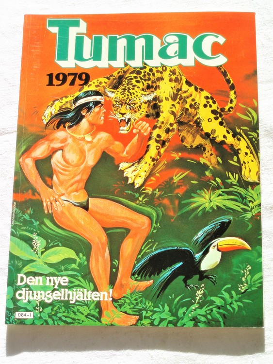 "Tumac ""Den nye djungelhjälten"" 1979 mycket bra skick nyskick"