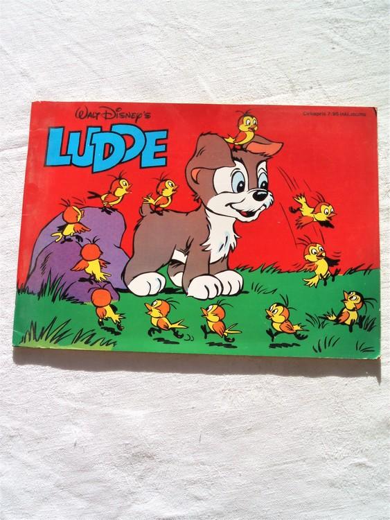 Ludde 1976 Walt Disney mycket bra skick