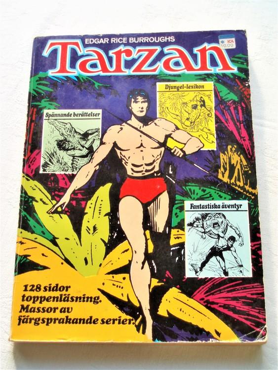 Stora Tarzan-Boken 2 1972 Williams förlag normalslitet normalskick bra skick