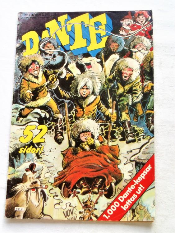 Dante nr 3 1976  normalsliten,normalskick