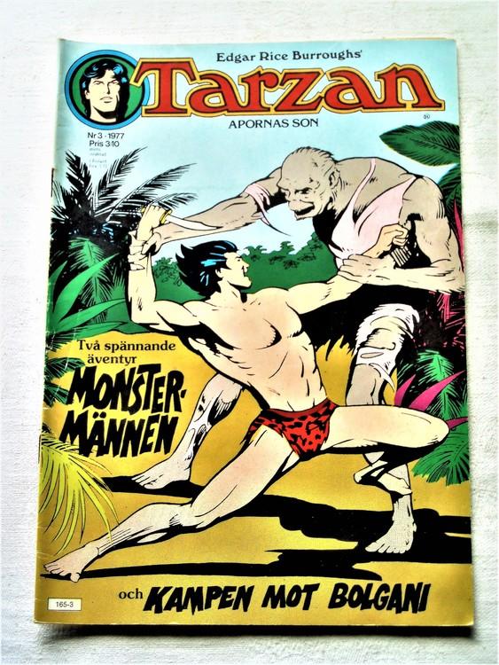 Tarzan nr 3 1977 mycket bra skick